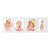 4-teilige Portraitmappe mit Tasche für 13x18 cm -  weiß glänzend - ohne Rand Produktbild Front View 2XS