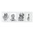 4-teilige Portraitmappe mit Tasche für 13x18 cm -  weiß glänzend - ohne Rand Produktbild Additional View 2 2XS