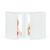 4-teilige Portraitmappe mit Tasche für 13x18 cm -  weiß glänzend - ohne Rand Produktbild Additional View 4 2XS