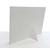 Aufsteller für 13x18 cm - weiß matt mit grauem Rand - mit weißem starkem Rücken Produktbild Additional View 5 2XS