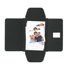 Faltmappen Schmetterling für Bilder 13x18 cm - schwarz matt Produktbild