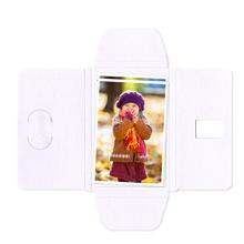 Faltmappen Schmetterling für Bilder 20x25 cm - weiß matt Produktbild