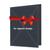 Individuell bedruckbare Passbildmappe mit Ausschnitt 32x42 mm & Tasche - schwarz - 1-farbig bedruckbar Produktbild Additional View 3 2XS