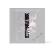 Grußkarte Transparent für 9x13 cm Hochformat - 1 Ausschnitt - anthrazit - Danke Produktbild