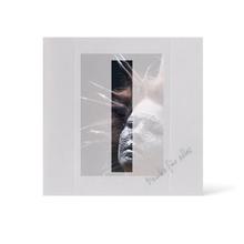 Grußkarte Transparent für 9x13 cm Hochformat - 1 Ausschnitt - silber - Danke Produktbild