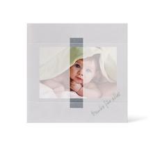 Grußkarte Transparent für 9x13 cm Querformat - 1 Ausschnitt - silber - Danke Produktbild