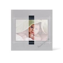 Grußkarte Transparent für 9x13 cm Querformat - 1 Ausschnitt - anthrazit - Danke Produktbild