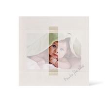 Grußkarte Transparent für 9x13 cm Querformat - 1 Ausschnitt - creme - Danke Produktbild