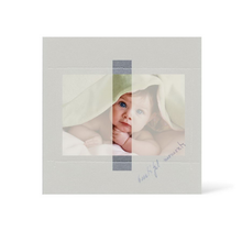 Grußkarte Transparent für 9x13 cm Querformat - 1 Ausschnitt - silber - Beautiful Moments Produktbild