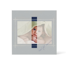 Grußkarte Transparent für 9x13 cm Querformat - 1 Ausschnitt - blau - Beautiful Moments Produktbild