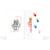 Mini Passbildmappe mit Einsteckschlitz für 4,5x6 cm - Motivdruck Hände Produktbild Additional View 2 2XS