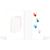 Mini Passbildmappe mit Einsteckschlitz für 4,5x6 cm - Motivdruck Hände Produktbild Additional View 3 2XS