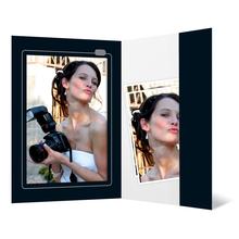 Portraitmappe mit Tasche für 13x18 cm - Motivdruck Kamera Produktbild