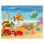 3 tlg. Schulfotomappe / Kindergartenmappe für 13x18 cm mit 2 Einsteckschlitzen - Atlantis Produktbild Front View 2XS