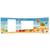 3 tlg. Schulfotomappe / Kindergartenmappe für 13x18 cm mit 2 Einsteckschlitzen - Atlantis Produktbild Additional View 3 2XS