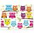 3 tlg. Schulfotomappe / Kindergartenmappe für 13x18 cm mit 2 Einsteckschlitzen - Eulen Produktbild Front View 2XS