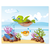 3 tlg. Schulfotomappe / Kindergartenmappe für 13x18 cm mit 2 Einsteckschlitzen - Schildkröte Produktbild Additional View 5 2XS