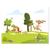3 tlg. Schulfotomappe / Kindergartenmappe für 13x18 cm mit 2 Einsteckschlitzen - Wettlauf Produktbild Front View 2XS