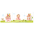 3 tlg. Schulfotomappe / Kindergartenmappe für 13x18 cm mit 2 Einsteckschlitzen - Wettlauf Produktbild Additional View 2 2XS