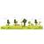 3 tlg. Schulfotomappe / Kindergartenmappe für 13x18 cm mit 2 Einsteckschlitzen - Wettlauf Produktbild Additional View 4 2XS