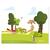 3 tlg. Schulfotomappe / Kindergartenmappe für 13x18 cm mit 2 Einsteckschlitzen - Wettlauf Produktbild Additional View 5 2XS