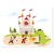 3 tlg. Schulfotomappe / Kindergartenmappe für 13x18 cm mit 2 Einsteckschlitzen - Ritterburg Produktbild Front View 2XS