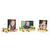 3 tlg. Schulfotomappe / Kindergartenmappe für 13x18 cm mit 2 Einsteckschlitzen - Ritterburg Produktbild Additional View 2 2XS