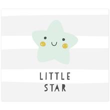 3 tlg. Schulfotomappe / Kindergartenmappe für 13x18 cm mit 2 Einsteckschlitzen - Little Star Produktbild