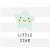 3 tlg. Schulfotomappe / Kindergartenmappe für 13x18 cm mit 2 Einsteckschlitzen - Little Star Produktbild Front View 2XS