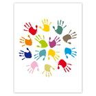 Kombi-Einlegemappe mit Steckecken für 13x18 & 15x20 cm - Hände Produktbild