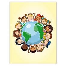 Kombi-Einlegemappe mit Steckecken für 13x18 & 15x20 cm - Kinder dieser Welt Produktbild
