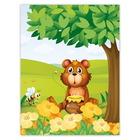 Kombi-Einlegemappe mit Steckecken für 13x18 & 15x20 cm - Honigbär Produktbild