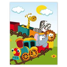 Kombi-Einlegemappe mit Steckecken für 13x18 & 15x20 cm - Eisenbahn Produktbild