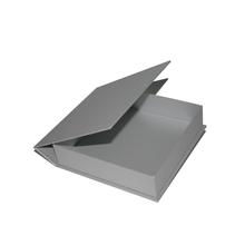 """Fotobox """"Deko"""" 16x16 cm silber satiniertes Papier Produktbild"""