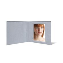 """Fotobuch """"Deko"""" 21x21 cm silber satiniertes Papier Produktbild"""