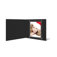 "Fotobuch ""Deko"" 24x24 cm schwarz mattes Papier Produktbild"