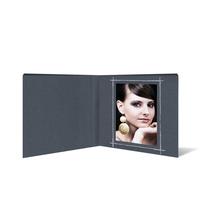 """Fotobuch """"Deko"""" 16x16 cm anthrazit satiniertes Papier Produktbild"""