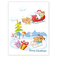 Kombi-Einlegemappe mit Steckecken für 13x18 & 15x20 cm - Weihnachtsmann Produktbild