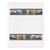 Negativ-Ablageblätter, 7 Streifen, beidseitig klar, Kleinbild, 100 Stück Produktbild Front View 2XS