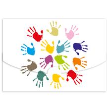 Schutzumschlag Hände für Bilder 15x21 cm Produktbild