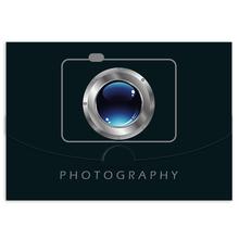 Schutzumschlag Kamera für Bilder 15x21 cm Produktbild