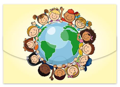 Schutzumschlag Kinder dieser Welt für Bilder 15x21 cm Produktbild
