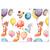 Schutzumschlag Ballons für Bilder 15x21 cm Produktbild Front View 2XS
