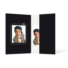 Passbildmappe mit Ausschnitt 32x42 mm & Tasche - Motivdruck Kamera Produktbild