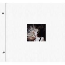 """Schraubalbum """"Premium"""" für  24x24 cm - weiß - Kunstleder Produktbild"""