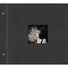 """Schraubalbum """"Premium"""" für  21x21 cm - schwarz - Kunstleder Produktbild"""