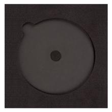 Einleger für CD/DVD mit Boxeninnenmaß 18x18 cm, Rücken 380 g/m² Produktbild