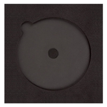 Einleger für CD/DVD mit Boxeninnenmaß 21,3x21,3 cm, Rücken 380 g/m² Produktbild