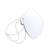 """Mund/Nase Abdeckungen, """"Behelfsschutzmasken"""" Standard 1-farbiger Druck Verpackungseinheit 500 Stück Produktbild Additional View 3 2XS"""