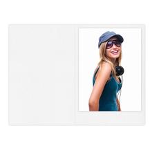 Falt- / Doppelkarte zino white 17x23 cm 160g/m² Produktbild